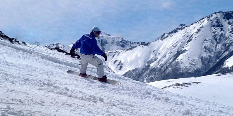 Onde é a pista de esqui Cerro Bayo
