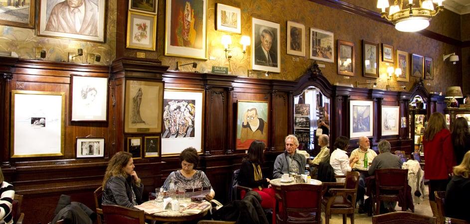 História do Café Tortoni em Buenos Aires
